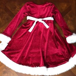 82859e177 Bonnie Jean Dresses - Bonnie Jean Christmas Dress Sequin Red Velvet Gown